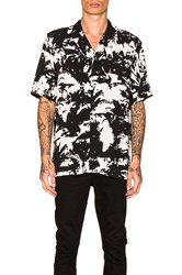 Ksubi Big Troppo Button Down Black And White