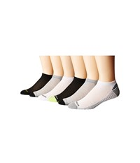 Steve Madden 6 Pack Low Cut Arch Support 1 2 Cushion White Men's Low Cut Socks Shoes