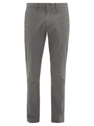 Polo Ralph Lauren Cotton Blend Slim Leg Chino Trousers Grey