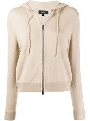 Theory Hooded Zip Front Cardigan 60