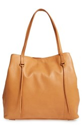 Hobo Kingston Leather Tote Brown Whiskey