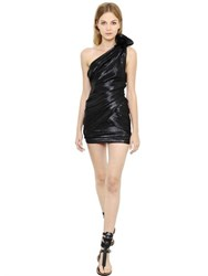 Isabel Marant Lurex And Silk Lame Draped Dress