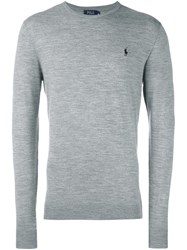 Polo Ralph Lauren Logo Sweater Grey