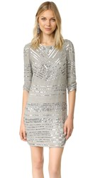Parker Black Petra Dress Silver