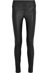 Tom Ford Stretch Leather Leggings Black