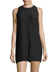 French Connection Sleeveless Romper Black
