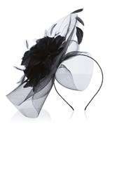 Coast Kalea Large Fascinator Black