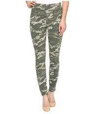 Lysse Soho Canvas Leggings Ivy Camo Women's Casual Pants Green