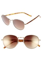 Ed Ellen Degeneres Women's 53Mm Gradient Round Sunglasses Gold