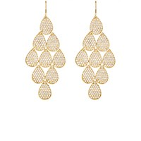 Irene Neuwirth Diamond Collection Women's Nine Drop Earrings Gold No Color Gold No Color
