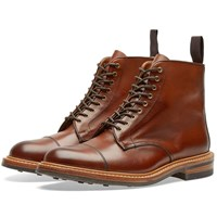 Tricker's End. X Toe Cap Boot Brown