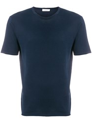 Paolo Pecora Shortsleeved Jumper Blue
