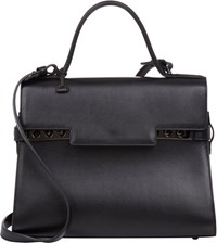 Delvaux Women's Tempete Gm Satchel Black