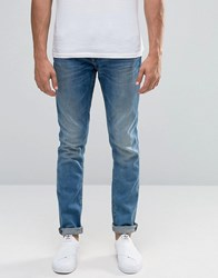 Blend Of America Jet Slim Jeans Light Vintage Blue Denim Light