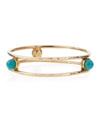 Ashley Pittman Egesha Turquoise Stud Bracelet