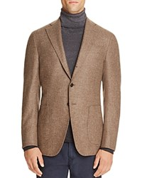 Eidos Wool Melange Slim Fit Sport Coat Medium Brown