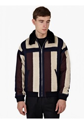 Melindagloss Panelled Lamb's Wool Jacket