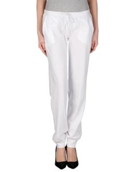 Kangra Cashmere Casual Pants White