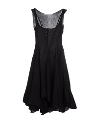 Poeme Bohemien Dresses Short Dresses Women Black