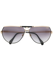 Cazal Tinted Aviator Sunglasses Metallic
