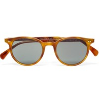 Oliver Peoples Delray D Frame Acetate Sunglasses Brown