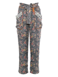 Isabel Marant Almon Patch Pocket Trousers