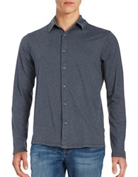 Velvet By Graham And Spencer Jery Button Down Shirt Oasis