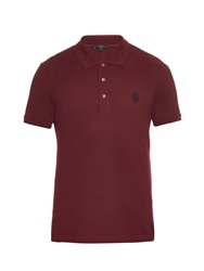 Gucci Short Sleeved Pique Polo Shirt