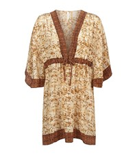 Gottex Sequin V Neck Kaftan Female
