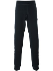 Lanvin Gathered Ankle Track Pants Blue