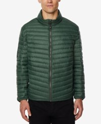 32 Degrees Men's Light Thin Packable Bomber Jacket A Macy's Exclusive Hunter Mel