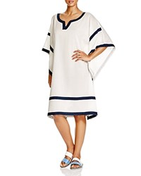 Vince Camuto Tunic Swim Cover Up Navy