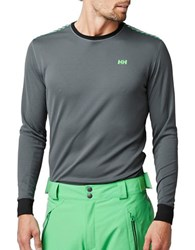Helly Hansen Active Flow Baselayer Tee Rock