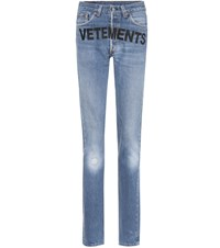 Vetements X Levi's Reworked Jeans Blue