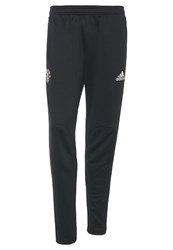 Adidas Performance Manchester United Tracksuit Bottoms Black Collegiate Navy Chalk White