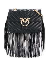 Pinko Love Simply Fringe Shoulder Bag 60