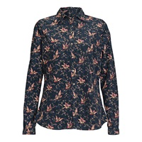 Barbour Print Shirt Navy Bird