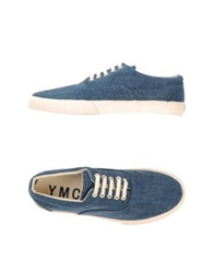 Ymc You Must Create Low Tops And Trainers Pastel Blue