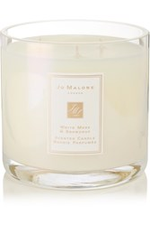 Jo Malone London White Moss And Snowdrop Scented Deluxe Candle Colorless
