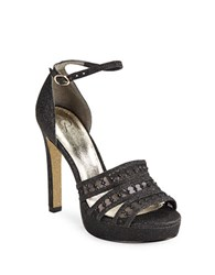 Adrianna Papell Morgan Platform Sandals Black