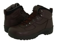 Drew Shoe Rockford Brown Tumbled Leather Men's Lace Up Boots