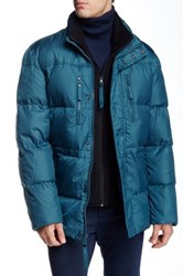 Andrew Marc New York Blizzard Down Parka Blue