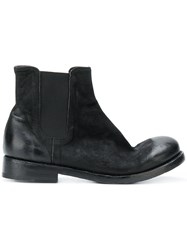 The Last Conspiracy Chelsea Boots Leather Suede Black