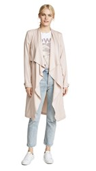 Cupcakes And Cashmere Anamaria Trench Coat Latte
