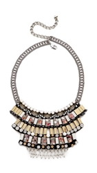 Nocturne Nazim Necklace White Multi