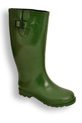 Twisted Drizzy Rain Boot Green