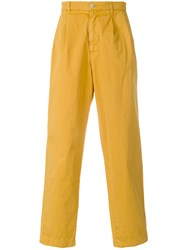 Cav Empt Loose Fit Trousers Yellow And Orange