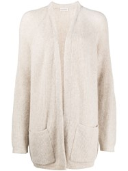 By Malene Birger Knitted Ribbed Cardigan 60