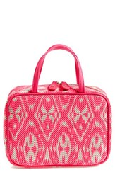 Stephanie Johnson 'Tamarindo Pink' Traveler Cosmetics Case