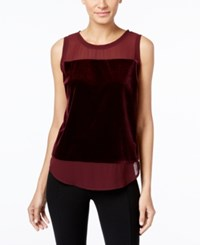 Inc International Concepts Illusion Trim Top Only At Macy's Port